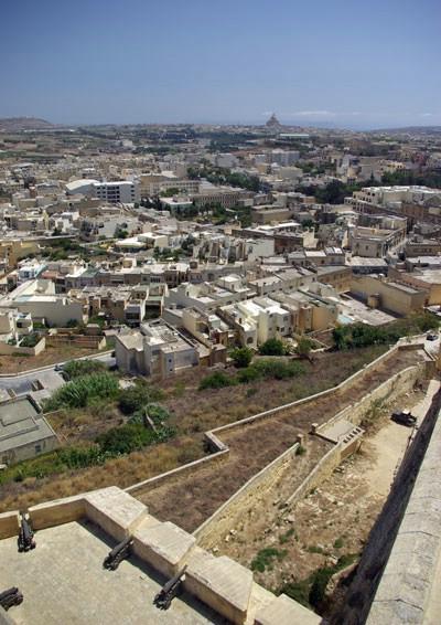Utsikt från citadellet