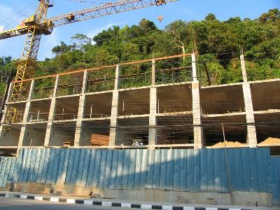 Byggarbetsplatser