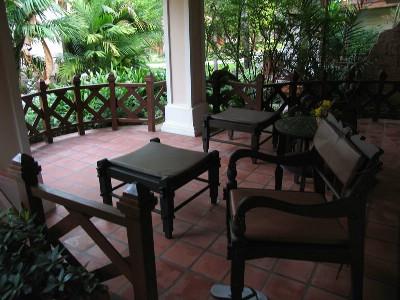 Vår veranda