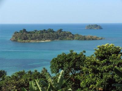 Vacker utsikt vid Kai Bae viewpoint