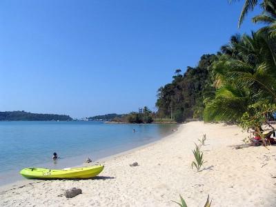 Bang Bao Beach - underbart ödslig
