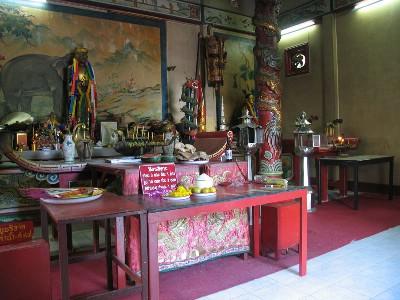 Inuti templet